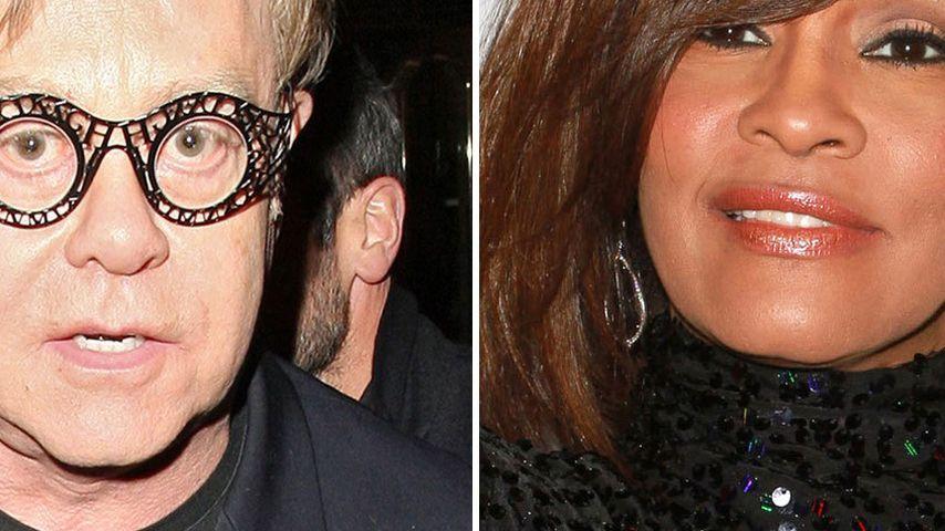 "Elton John: ""Ich kokste genauso viel wie Whitney!"""