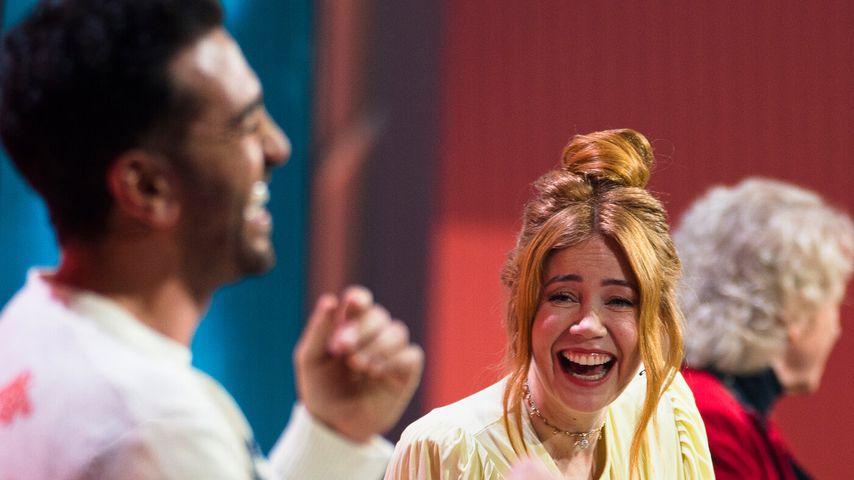 """Elyas M'Barek und Palina Rojinski bei """"Wer stiehlt mir die Show?"""""""