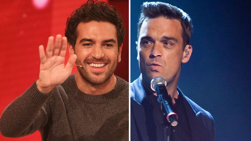 Instagram-Buddys: Elyas M'Barek chattet mit Robbie Williams!