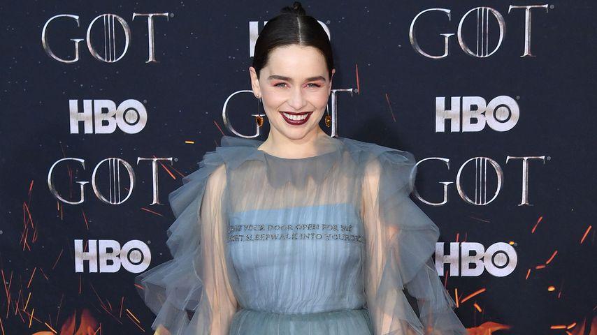 """""""Game of Thrones""""-Star Emilia Clarke bei der Premiere der achten Staffel in New York"""