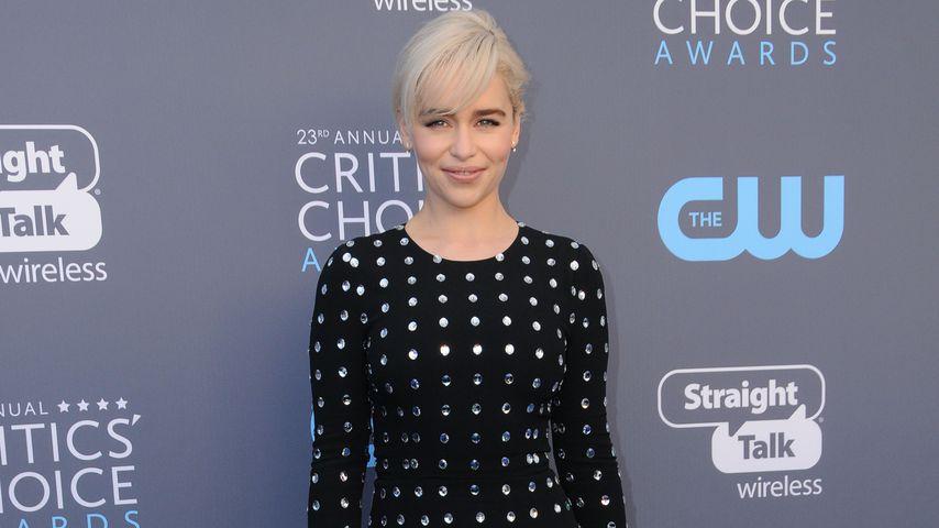 Emilia Clarke bei den Critics' Choice Awards 2018 in Los Angeles