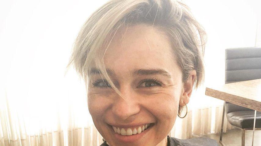 Noch kürzer! Emilia Clarke hat jetzt Männer-Haarschnitt