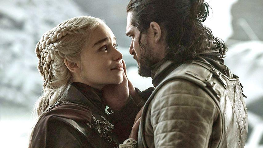 """Emilia Clarke und Kit Harington in der finalen """"Game of Thrones""""-Staffel"""