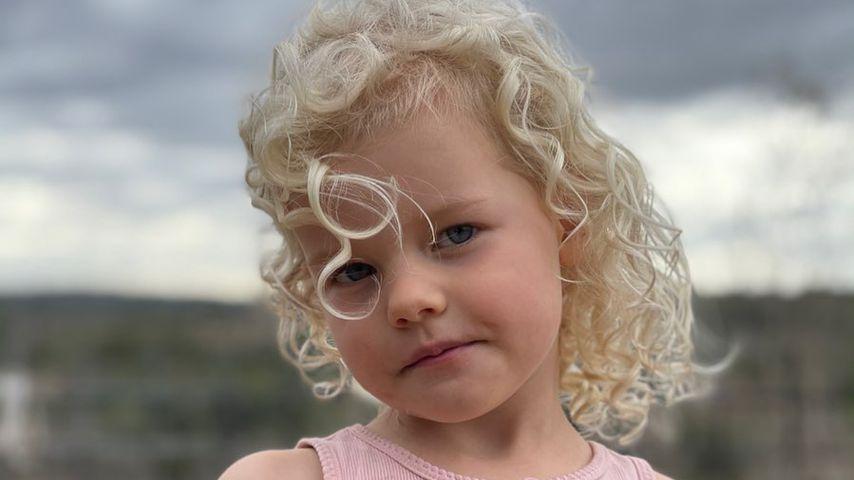 Emilia, James und Kimberly Van Der Beeks Tochter