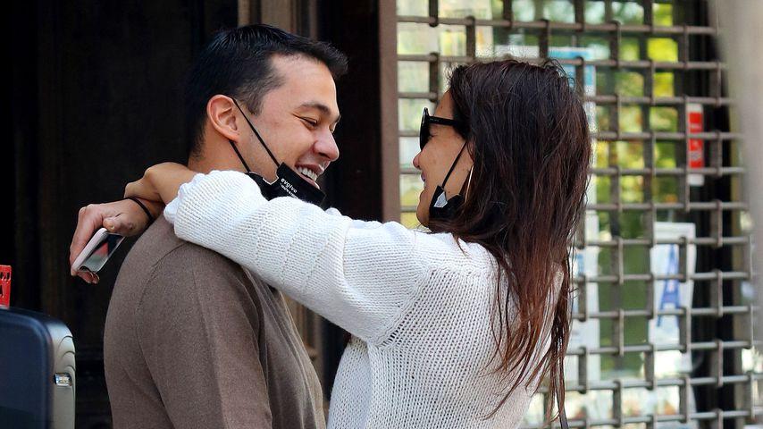 Emilio Vitolo und Katie Holmes im September 2020