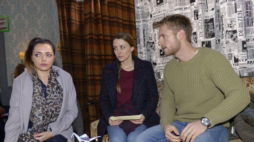 Emiliy (Anne Menden), Miriam (Luisa Wietzorek) und Paul (Niklas Osterloh)