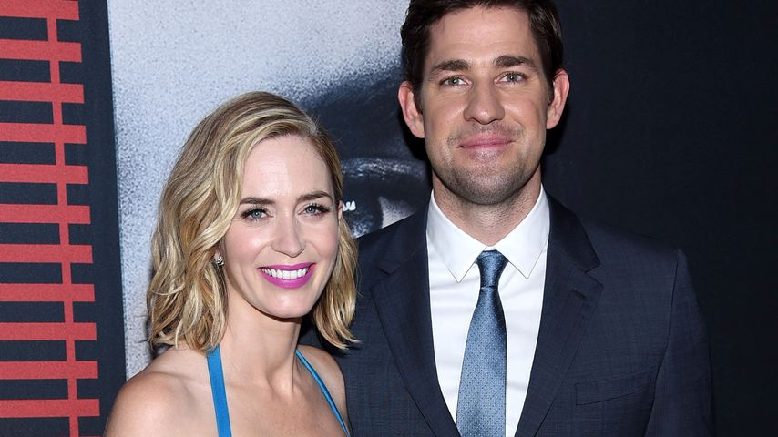 "Emily Blunt und John Krasinski, ""Girl on a train""-Premiere, New York"