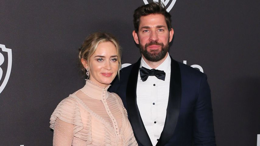 Emily Blunt und John Krasinski bei der Golden Globes After-Show-Party 2019