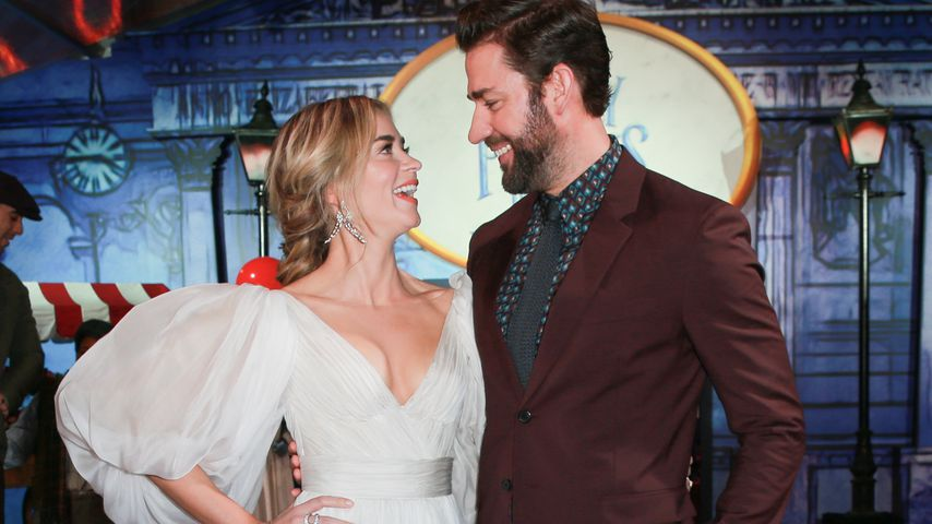 """Emily Blunt und John Krasinski auf der """"Mary Poppins Returns""""-Filmpremiere"""