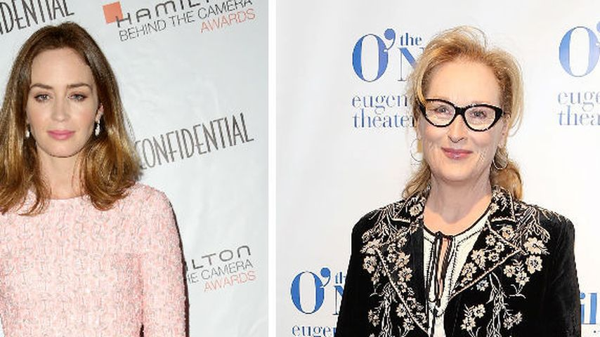 Puh! Emily Blunt bewahrte Meryl Streep vor Unfall