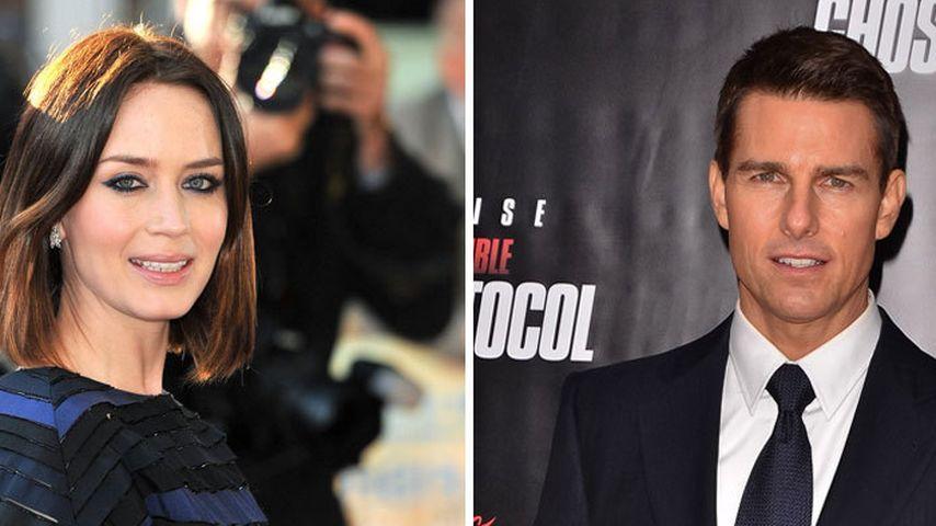 Emily Blunt schwärmt von Tom Cruises toller Haut