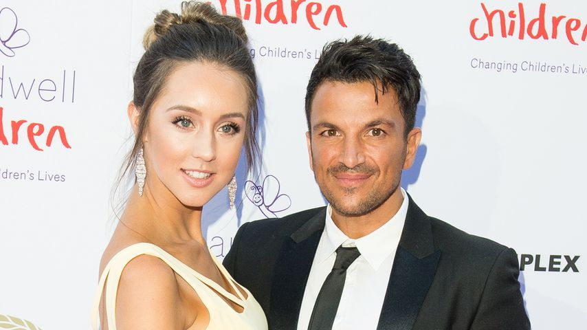 Emily und Peter Andre auf dem The Caudwell Children Butterfly Ball