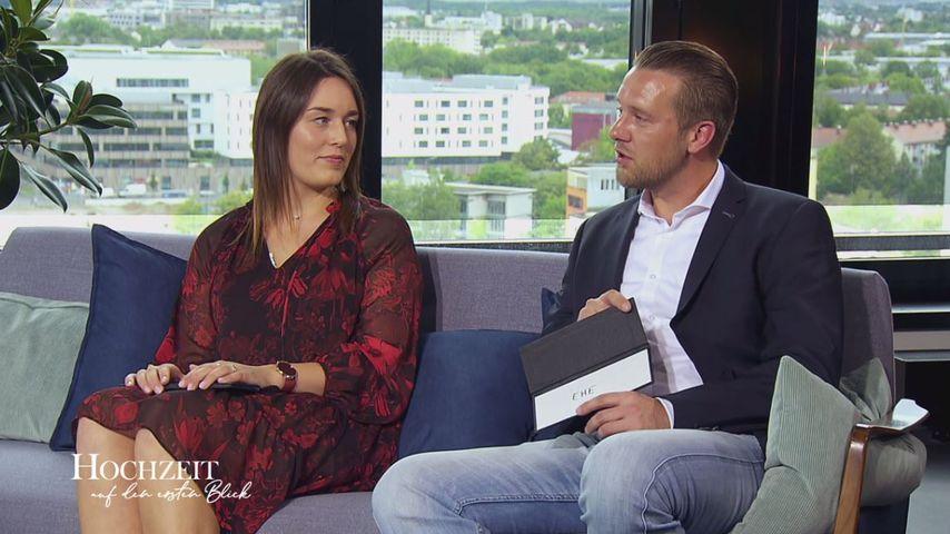 """Emily und Robert im """"Hochzeit auf den ersten Blick""""-Finale"""