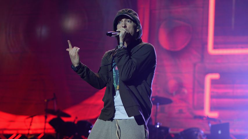 Eminem im August 2014 in Chicago