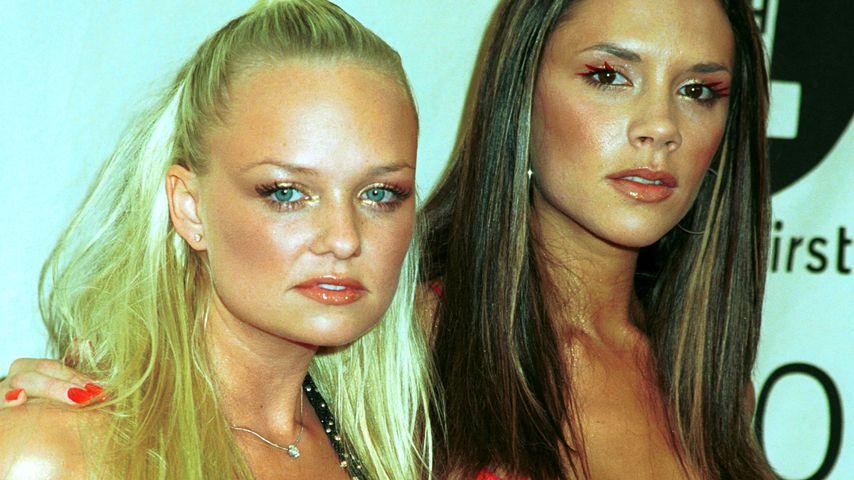 Emma Bunton und Victoria Beckham 2000