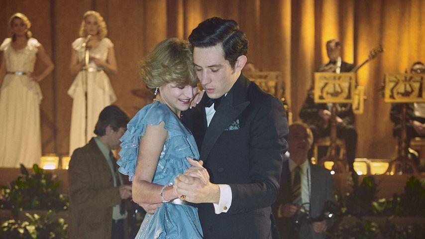 """Emma Corrin und Josh O'Connor in """"The Crown"""""""