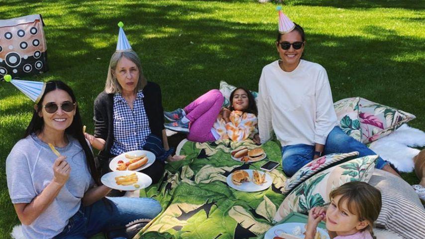 Emma Heming Willis, Demi Moore und ihre Patchwork-Familie, Juni 2020