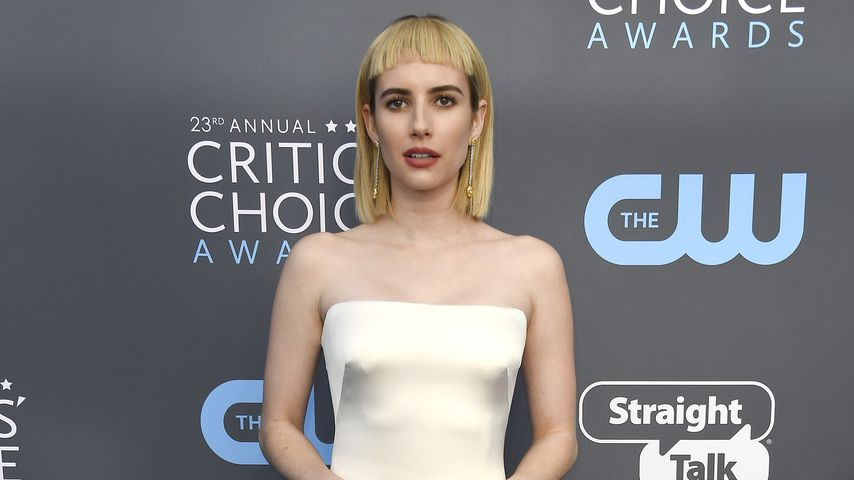 Emma Roberts bei den Critics' Choice Awards 2018