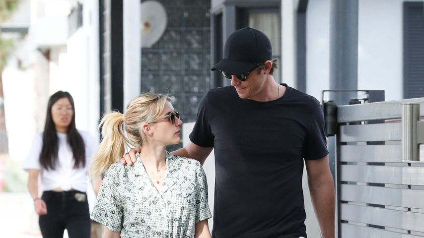 Schauspielerin Emma Roberts und Garrett Hedlund