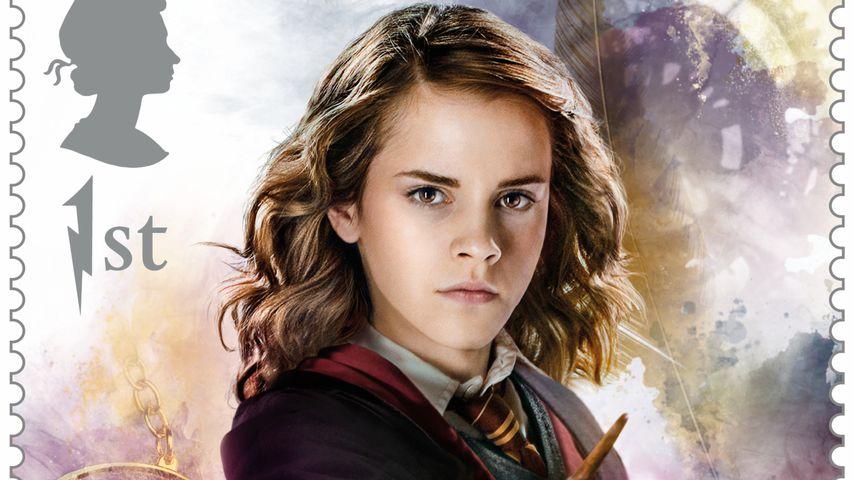 """Emma Watson als """"Harry Potter""""-Briefmarke 2018"""