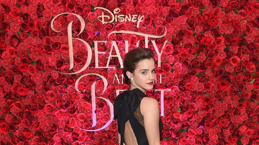 """Emma Watson beim Screening von """"Die Schöne und das Biest"""""""