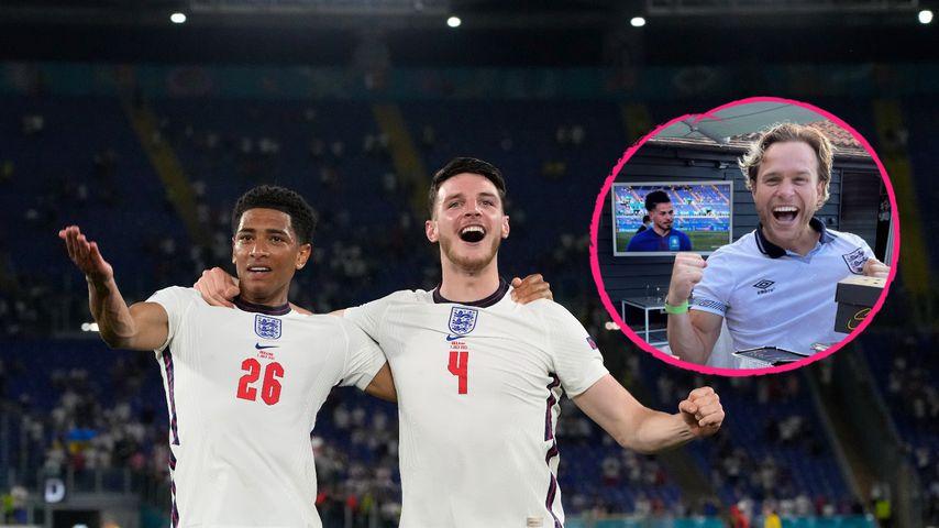 """""""Game on!"""": Diese britischen Stars bejubeln ihre EM-Jungs"""