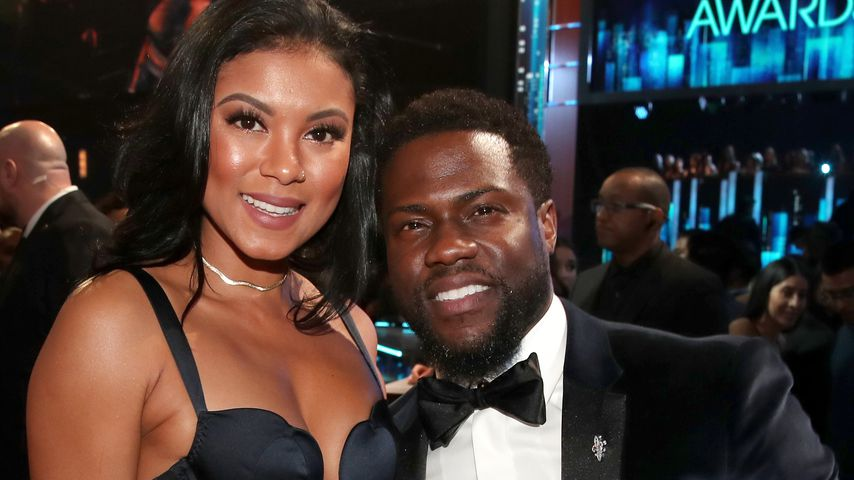 Eniko Hart und Kevin Hart bei den People's Choice Awards in Los Angeles