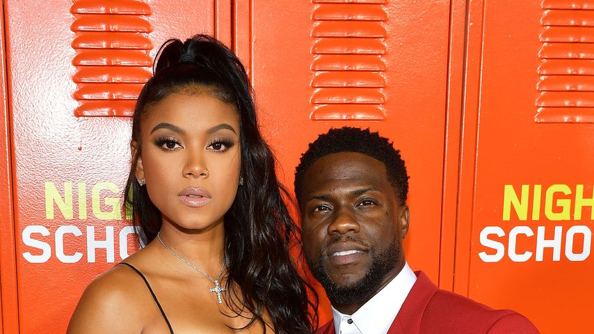 "Eniko und Kevin Hart auf der ""Night School""-Premiere in Los Angeles"