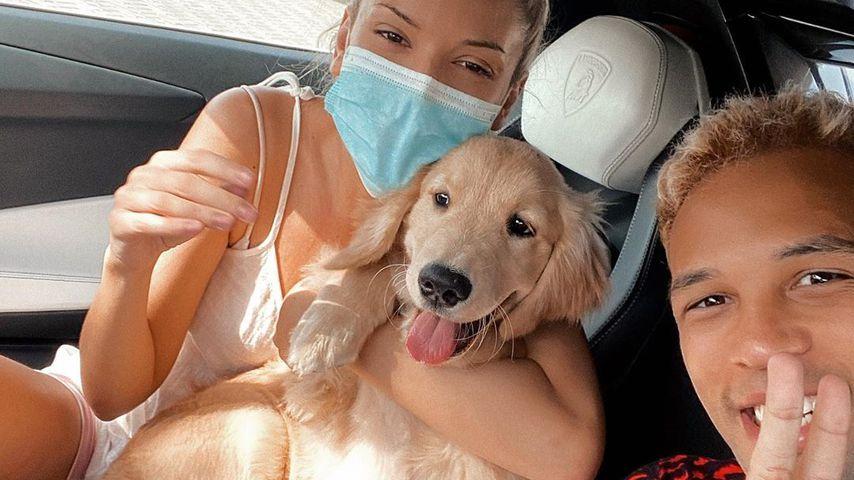 Enisa Bukvic, Simon Desue und Ihr Hund