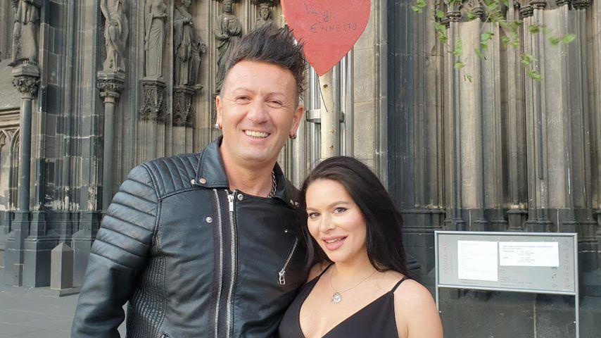Ennesto Monté und seine Freundin Vanja