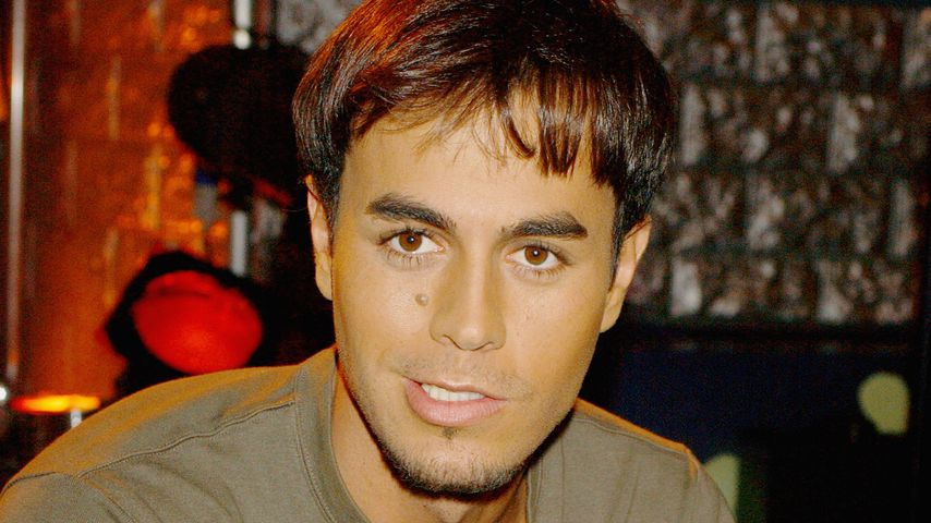 Enrique Iglesias im Oktober 2001 in Madrid