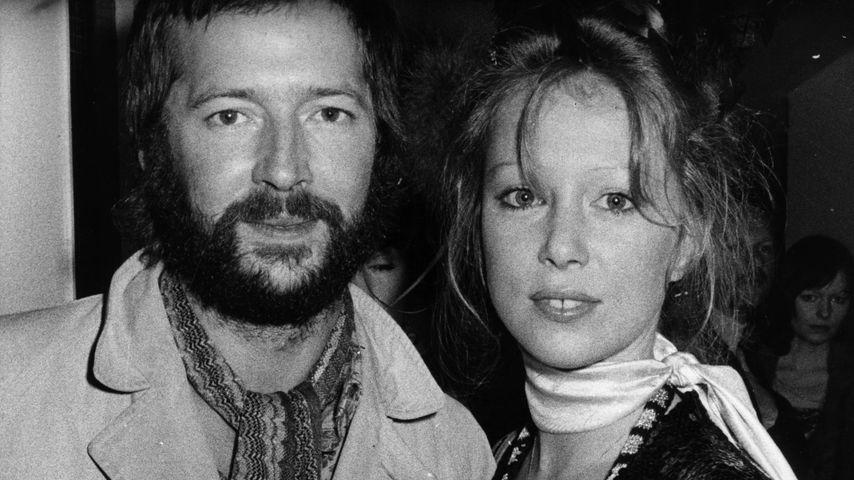 Eric Clapton und Pattie Boyd, 1975