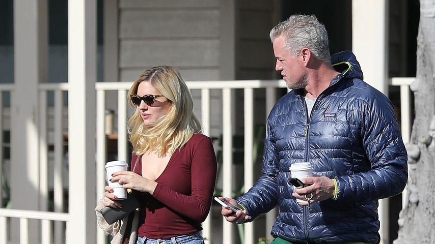 Eric Dane mit Begleitung beim Urth Caffe in Hollywood