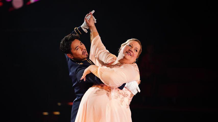 """Erich Klann und Ilka Bessin bei """"Let's Dance"""""""