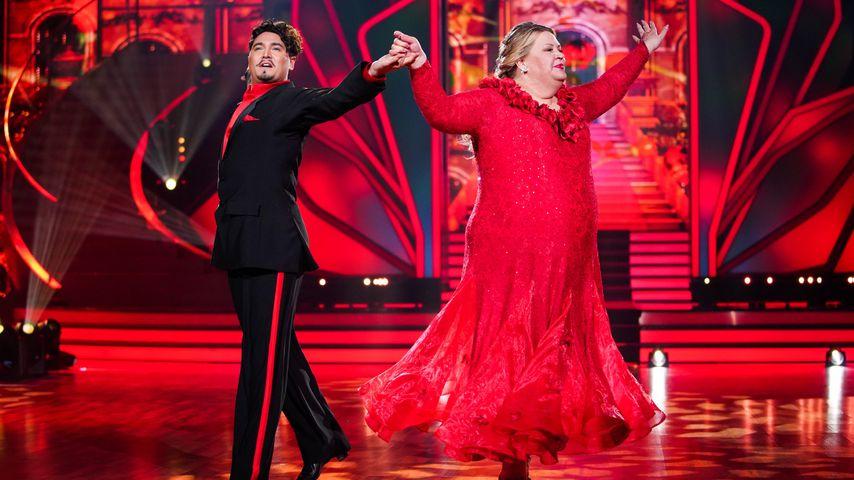 """Erich Klann und Ilka Bessin tanzen bei """"Let's Dance"""" im Februar 2020"""