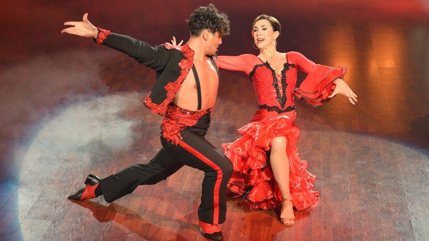 """Erich Klann und Judith Williams in der siebten """"Let's Dance""""-Show"""