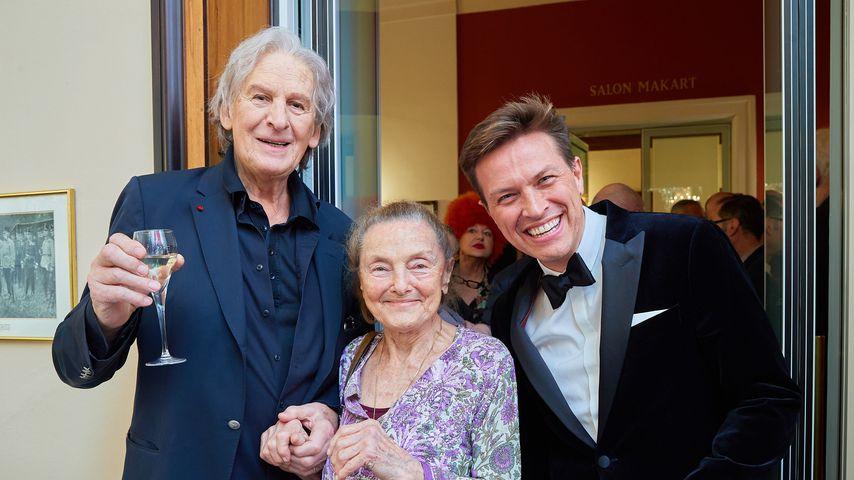 Erich Schleyer mit Freunden an seinem 80. Geburtstag