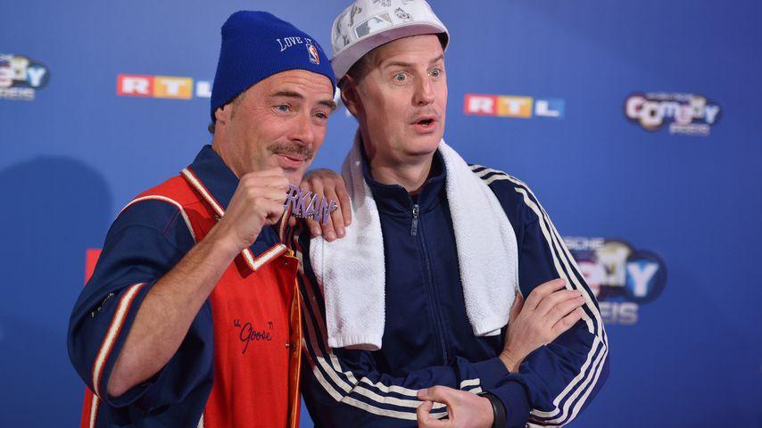 Erkan und Stefan alias John Friedmann und Florian Simbeck beim Deutscher Comedypreis in Köln