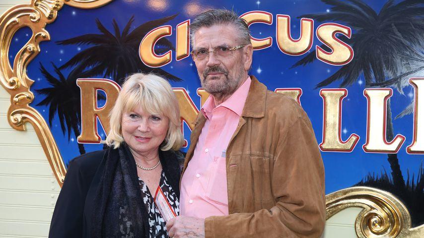 Erna und Günther Klum bei einer Premiere
