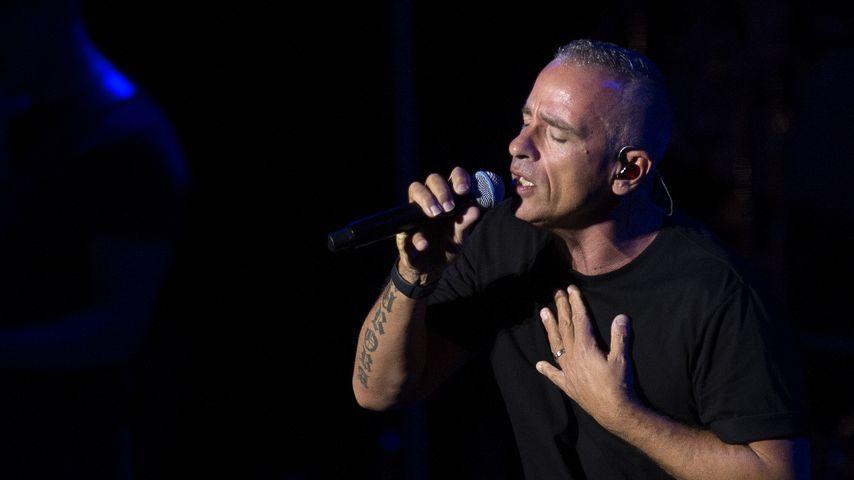 Eros Ramazzotti bei einem Auftritt im Juli 2019