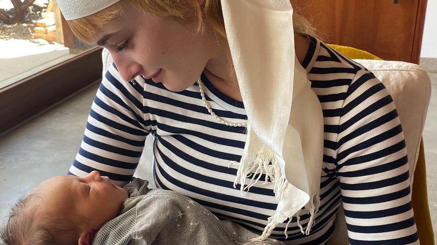 Ewan McGregors Tochter Esther mit ihrem kleinen Bruder Laurie