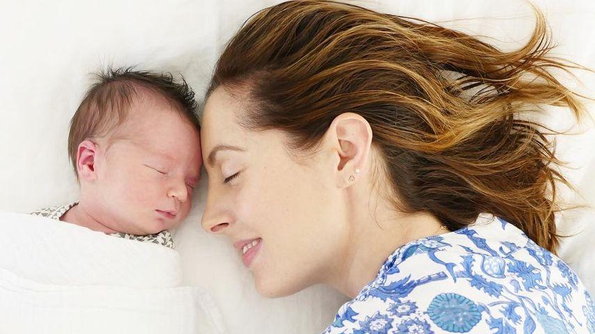 Eva Amurri mit ihrem Sohn Major