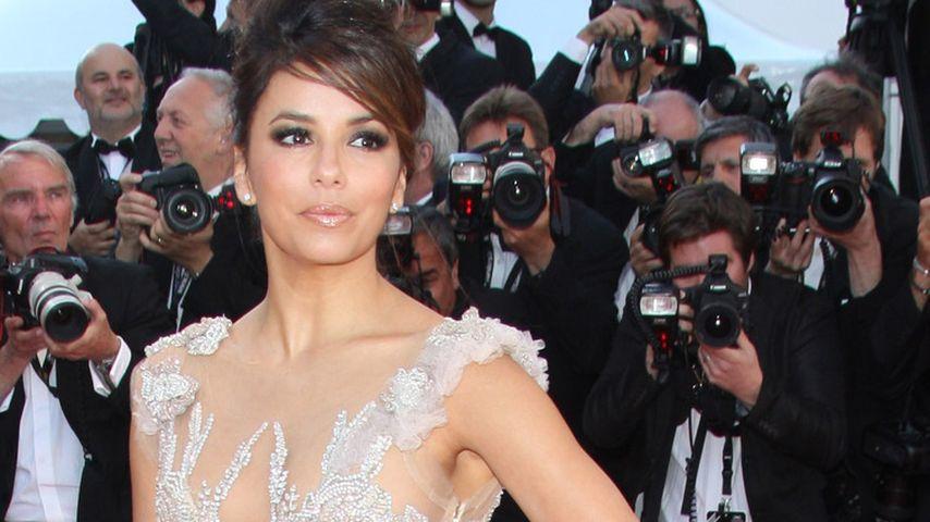 Cannes 2012: Eva Longoria mit Mega-Schleppe!