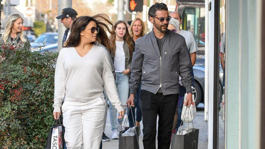 Eva Longoria und José Antonio Bastón beim Shoppen im Februar 2018