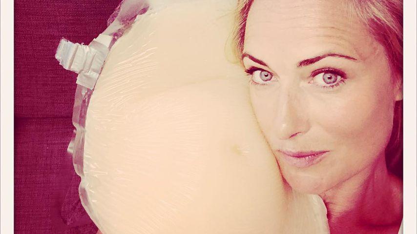 GZSZ-Star Eva Mona: Hier zeigt sie ihren Fake-Babybauch!