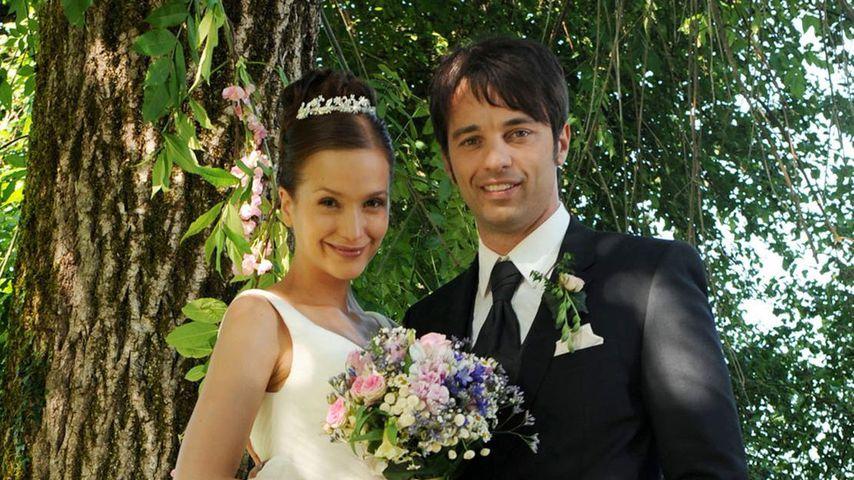 """Eva (Uta Kargel) und Robert (Lorenzo Patané), """"Sturm der Liebe""""-Paar Staffel 6"""