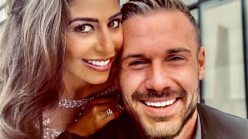 Evanthia Benetatou und ihr Verlobter Chris