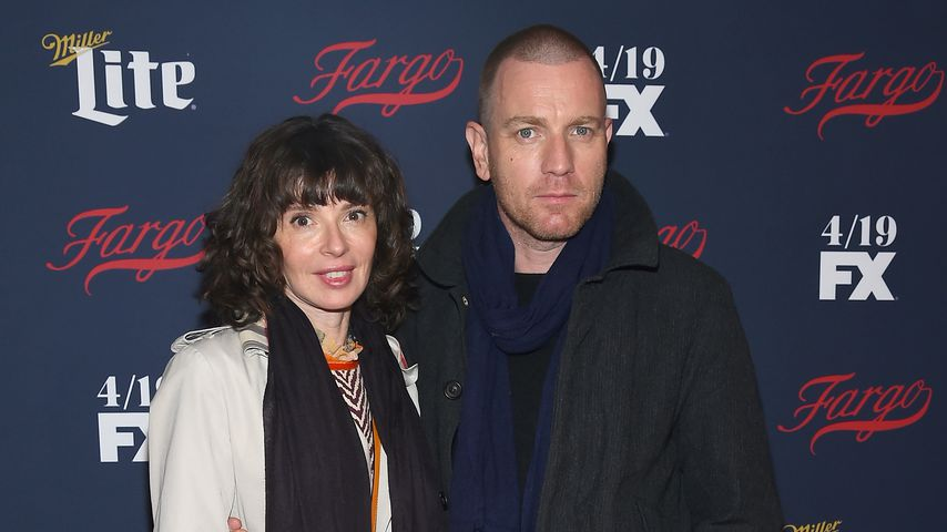 Eve Mavrakis und Ewan McGregor bei der FX Network 2017 All-Star Upfront in New York