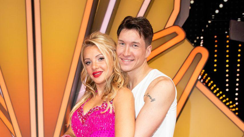 """Evelyn Burdecki und Evgeny Vinokurov in der achten """"Let's Dance""""-Show 2019"""