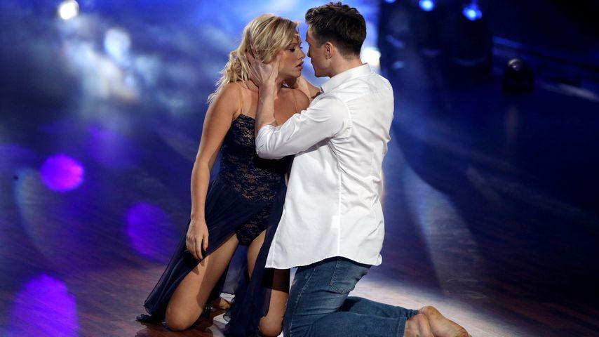 """Evelyn Burdecki und Evgeny Vinokurov in der dritten """"Let's Dance""""-Show"""